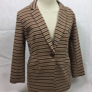Metaphor Striped Blazer